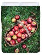 Orchard Fresh Picked Apples Duvet Cover