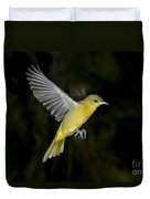 Orchard Oriole Hen Duvet Cover