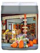 Orchard Valley Market Duvet Cover