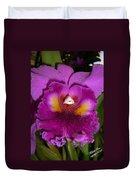 Orchid Flames Duvet Cover