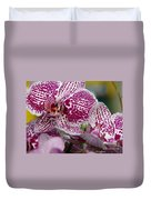 Orchid Art Duvet Cover