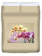Orchid Art Prints Orchids Flowers Floral Bouquets Duvet Cover