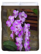 Orchid Beauties Duvet Cover