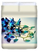Orchid Bouquet Duvet Cover