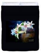 Orchid Cascade Duvet Cover