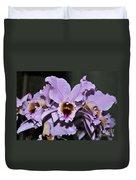 Orchid Cattleya Percivaliana Christmas Cattleya Duvet Cover