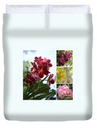 Orchid Collage Duvet Cover