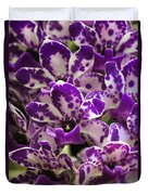 Orchid Grouping Duvet Cover