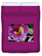 Orchid Heart And Soul Duvet Cover