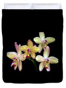 Orchid In Blossom Duvet Cover