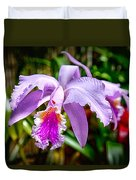 Orchid Life Duvet Cover