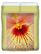 Orchid Of Color Duvet Cover