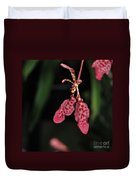 Orchid Red Renanthera Unnamed Duvet Cover