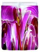 Orchid Splat Duvet Cover
