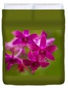 Orchid Splendor Duvet Cover