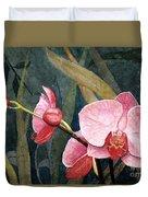 Orchid Trio Duvet Cover