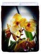 Orchid Vignette Duvet Cover