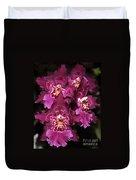 Orchid Vuylstekeara Aloha Passion Duvet Cover