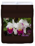 Orchids 198 Duvet Cover