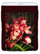 Orchids Galore Duvet Cover
