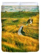 Orcia Valley Duvet Cover