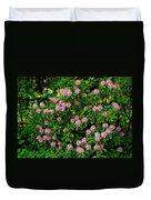 Oregon Azaleas Duvet Cover
