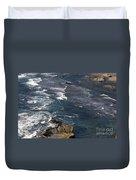 Oregon Coast And Shoreline Duvet Cover