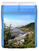Oregon Coastline Duvet Cover
