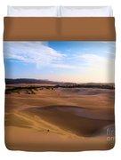 Oregon Dunes Landscape Duvet Cover