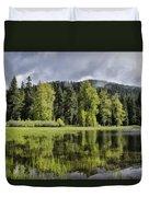 Oregon Lake Duvet Cover