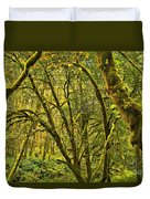 Oregon Rainforest Duvet Cover