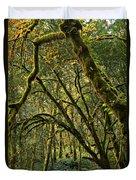 Oregon Rainforest Green Duvet Cover