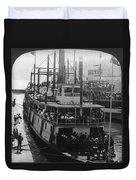 Oregon Steamboat, C1906 Duvet Cover