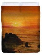 Oregon Sunset Duvet Cover