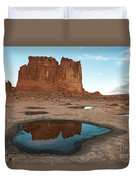 Organ Formation, Arches National Park Duvet Cover