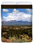 Organ Mountain Splendor Duvet Cover