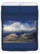 Organ Mountains New Mexico Duvet Cover