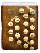 Organ Paradise Duvet Cover