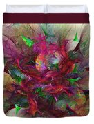 Orgy Of Colors Duvet Cover