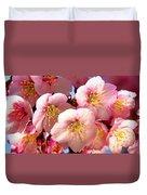 Oriental Flowers Duvet Cover