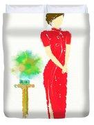 Orient Duvet Cover