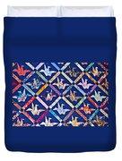 Origami Quilt Wall Art Prints Duvet Cover