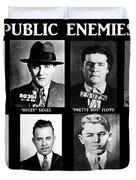 Original Gangsters - Public Enemies Duvet Cover