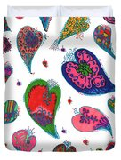 Original Hearts Duvet Cover