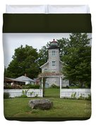 Original Lighthouse Site Duvet Cover