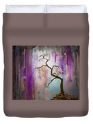 Original Painting Expressionist Contemporary Tree Art Duvet Cover