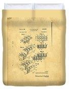 Original Us Patent For Lego Duvet Cover