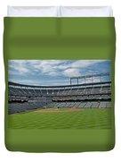 Oriole Park At Camden Yards Stadium Duvet Cover by Susan Candelario