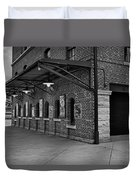Oriole Park Box Office Bw Duvet Cover