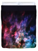 Orion Nebula Rainbow Smoke Duvet Cover